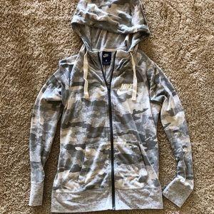 Nike Grey Camo Jacket